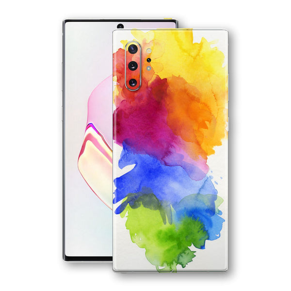 Samsung Galaxy NOTE 10+ PLUS Print Custom Signature AQUARELLE Skin Wrap Decal by EasySkinz
