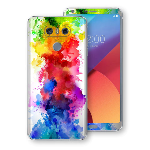 LG G6 Signature Watercolour Skin Wrap Decal Protector | EasySkinz