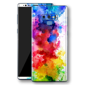 de4f94adde9b Samsung Galaxy NOTE 9 Signature Watercolour Skin Wrap Decal Protector