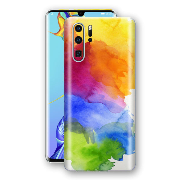 Huawei P30 PRO Print Custom Signature AQUARELLE Skin Wrap Decal by EasySkinz