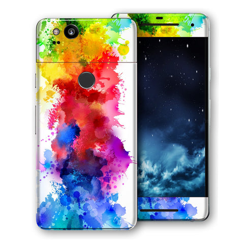 Google Pixel 2 Signature Watercolour Skin Wrap Decal Protector | EasySkinz