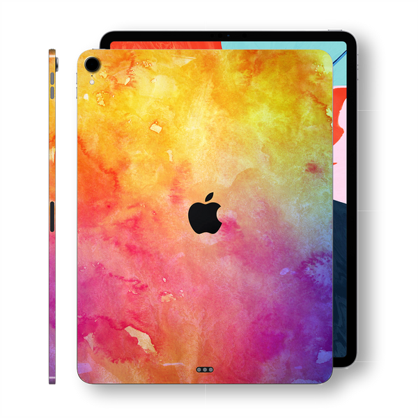 "iPad PRO 11"" inch 2018 Signature Watercolour Printed Skin Wrap Decal Protector 