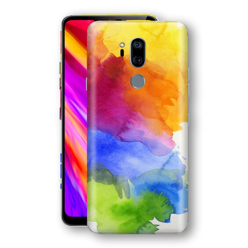 LG G7 ThinQ Print Custom Signature AQUARELLE Skin Wrap Decal by EasySkinz