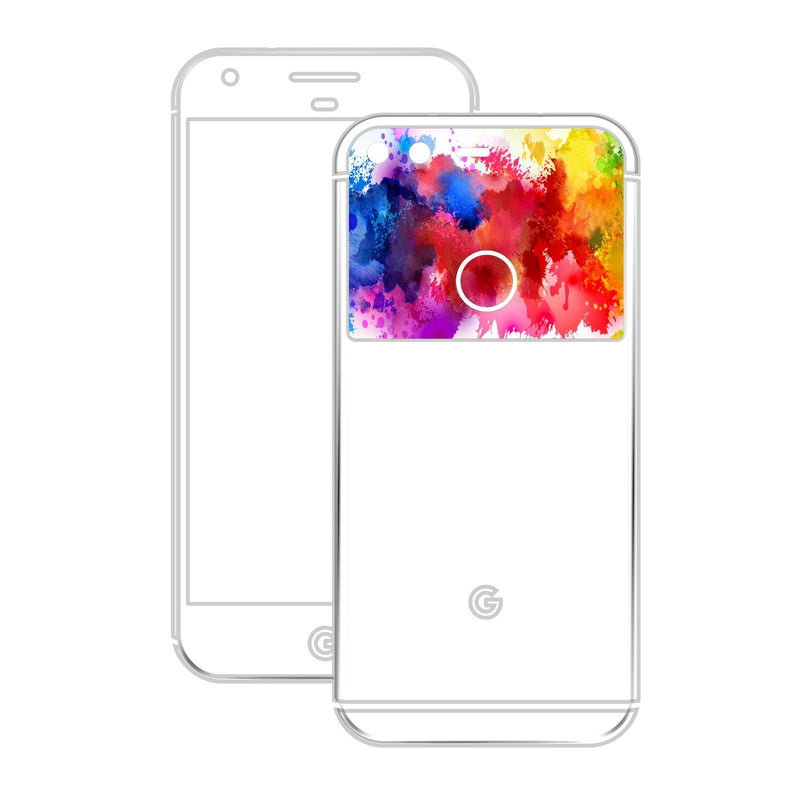 Google Pixel DIAMOND RED Skin