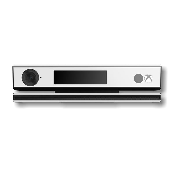 Xbox One Kinect White GLOSSY Finish Skin Wrap Sticker Decal Protector Cover by EasySkinz
