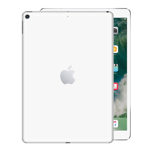 iPad 9.7 inch 2017 Glossy WHITE Skin Wrap Sticker Decal Cover Protector by EasySkinz