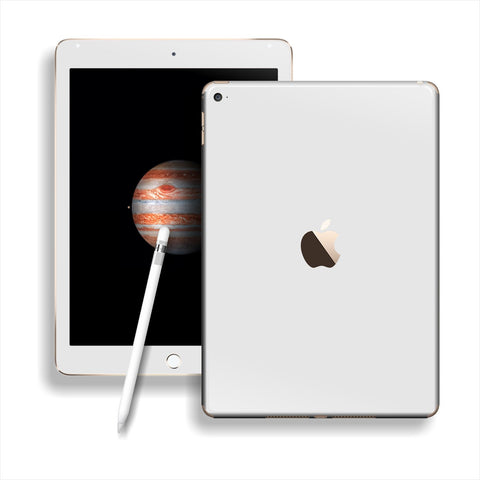iPad PRO Glossy White Skin Wrap Sticker Decal Cover Protector by EasySkinz