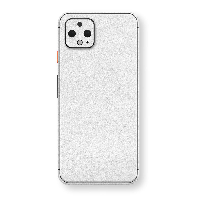 Google Pixel 4 XL Diamond White Shimmering, Sparkling, Glitter Skin, Decal, Wrap, Protector, Cover by EasySkinz | EasySkinz.com