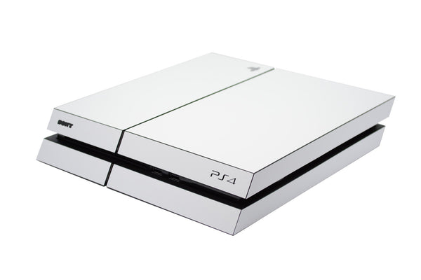ps4 white matt full body skin