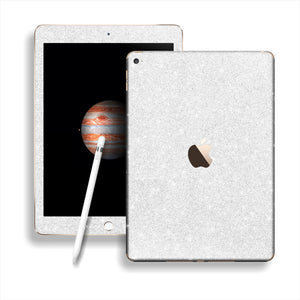 iPad PRO Diamond WHITE Glitter Shimmering Skin Wrap Sticker Decal Cover Protector by EasySkinz