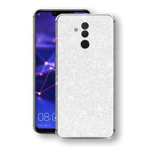 Huawei MATE 20 LITE Diamond White Shimmering, Sparkling, Glitter Skin, Decal, Wrap, Protector, Cover by EasySkinz | EasySkinz.com