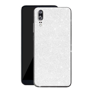 Huawei P20 Diamond White Shimmering, Sparkling, Glitter Skin, Decal, Wrap, Protector, Cover by EasySkinz | EasySkinz.com