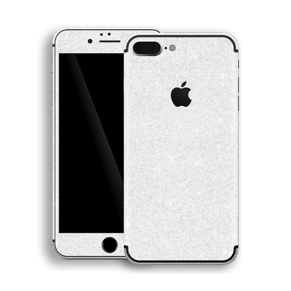 iPhone 7 Plus Diamond White Shimmering, Sparkling, Glitter Skin, Decal, Wrap, Protector, Cover by EasySkinz | EasySkinz.com