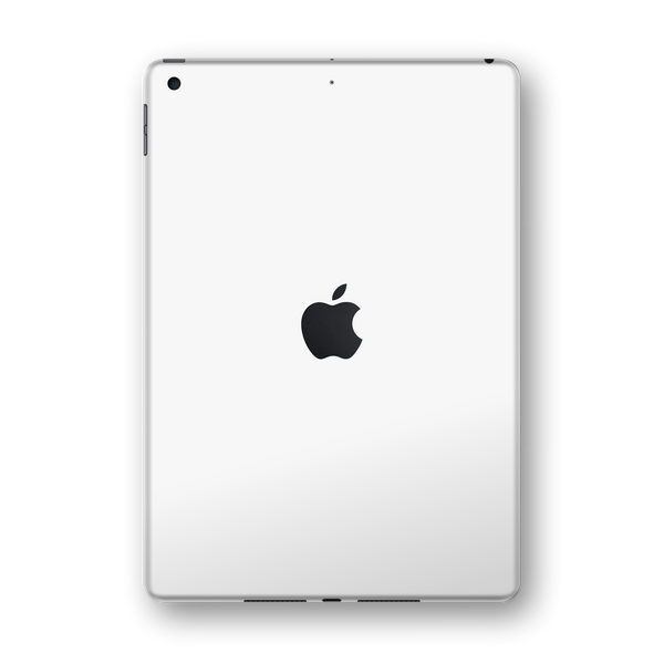 "iPad 10.2"" (7th Gen, 2019) Matt Matte WHITE Skin Wrap Sticker Decal Cover Protector by EasySkinz"
