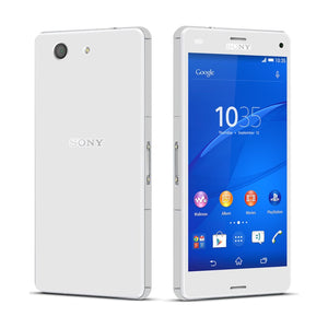 Sony Xperia Z3 COMPACT White Glossy Skin Wrap Sticker Cover Decal Protector By EasySkinz