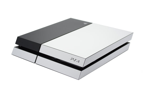 ps4 white matt part body skin