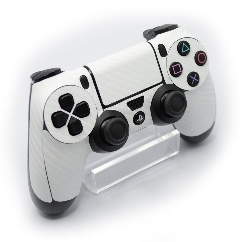 ps4 white carbon fibre skin
