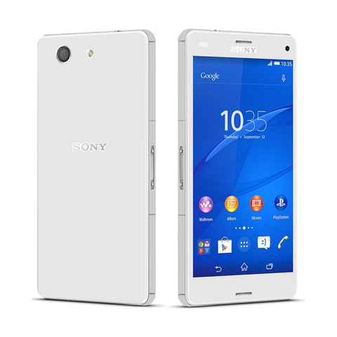 Sony Xperia Z3 COMPACT White Matt Skin Wrap Sticker Cover Decal Protector By EasySkinz