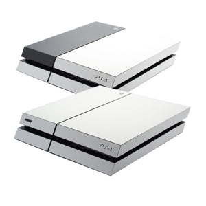 ps4 white carbon skin