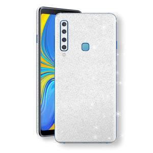 Samsung Galaxy A9 (2018) Diamond White Shimmering, Sparkling, Glitter Skin, Decal, Wrap, Protector, Cover by EasySkinz | EasySkinz.com