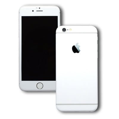 iPhone 6 White MATT Skin Wrap Sticker Cover Decal Protector by EasySkinz