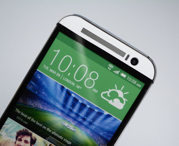 HTC One M8 White Matt Skin