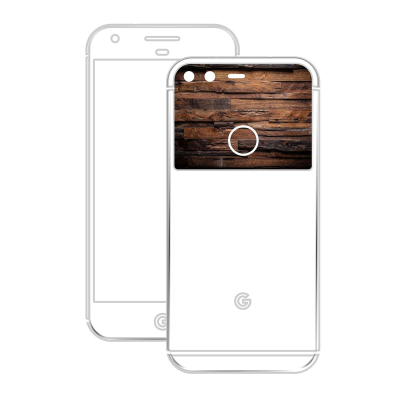 Google Pixel XL 3D Textured CARBON Fibre Skin - BLACK