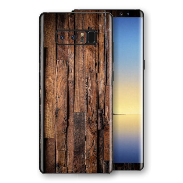 Samsung Galaxy NOTE 8 Signature Wood Skin Wrap Decal Protector | EasySkinz