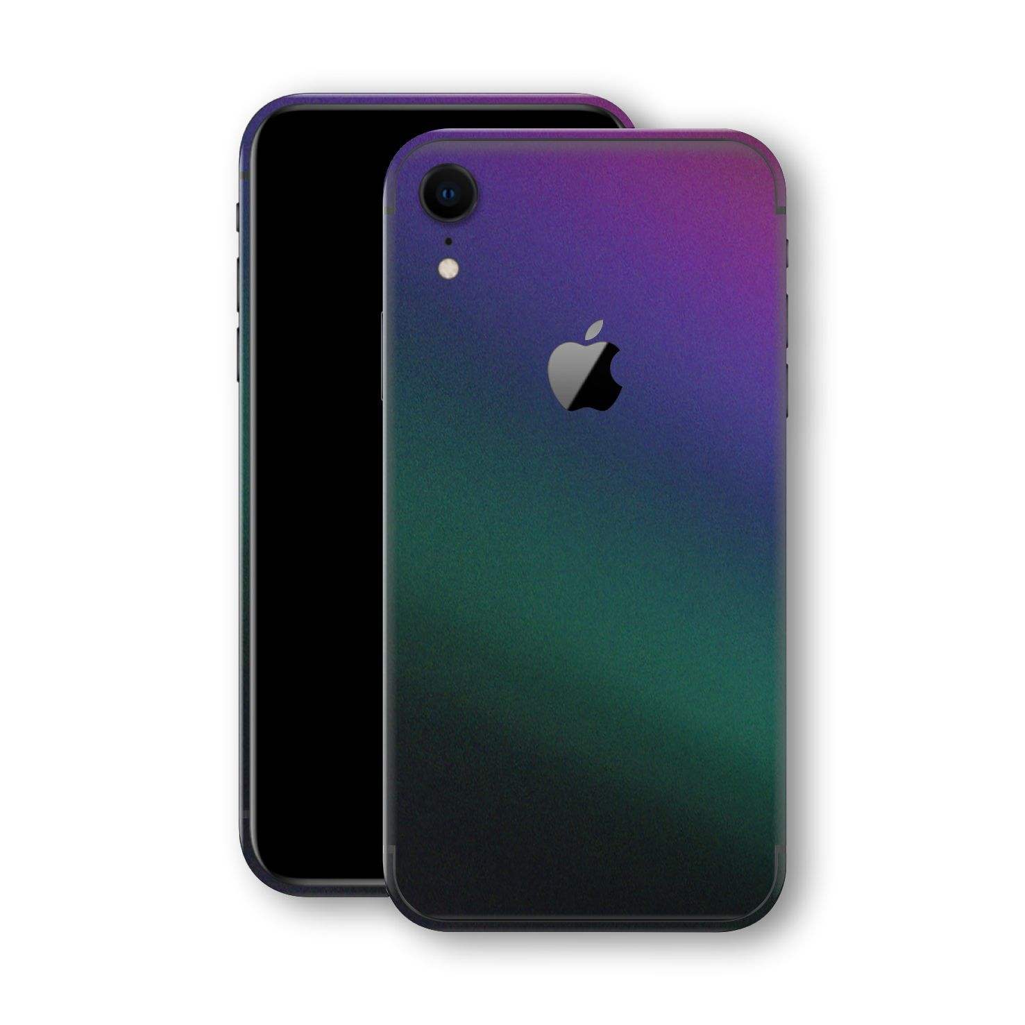 iPhone XR Chameleon DARK OPAL Colour-changing Skin, Wrap, Decal, Protector, Cover by EasySkinz | EasySkinz.com