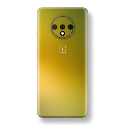 OnePlus 7T Chameleon NEPHRITE-GOLD Skin Wrap Decal Cover by EasySkinz