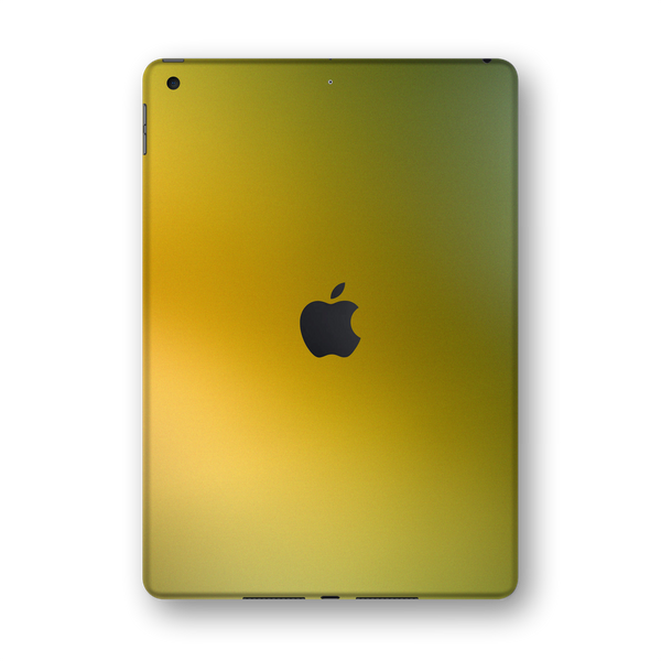 "iPad 10.2"" (7th Gen, 2019) Chameleon NEPHRITE-GOLD Colour-Changing Skin Wrap Sticker Decal Cover Protector by EasySkinz"