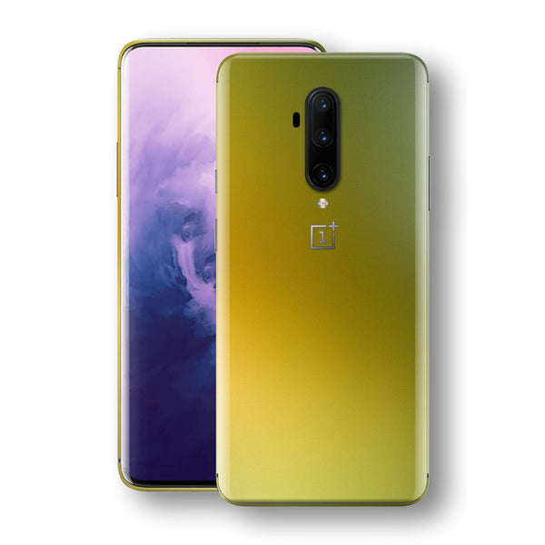 OnePlus 7T PRO Chameleon NEPHRITE-GOLD Skin Wrap Decal Cover by EasySkinz