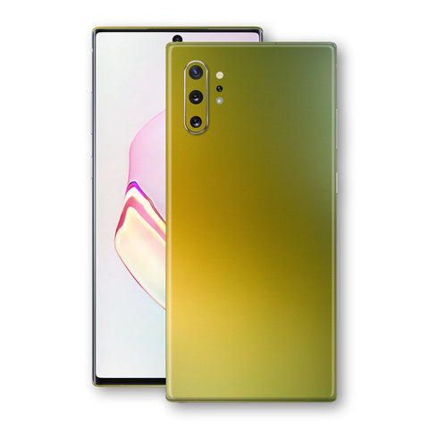 Samsung Galaxy NOTE 10+ PLUS Chameleon NEPHRITE-GOLD Skin Wrap Decal Cover by EasySkinz