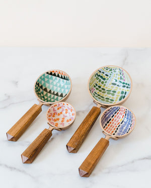 Wood Measuring Cups