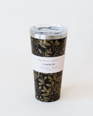 Black Queen Anne Tumbler-16oz