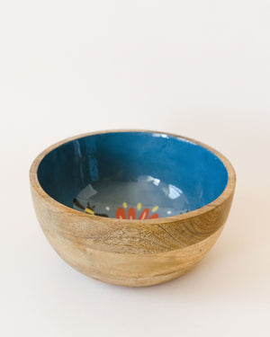 Frida Mango Wood Serving Bowl