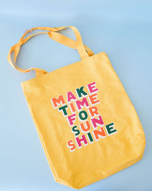 Make Time for Sunshine Tote