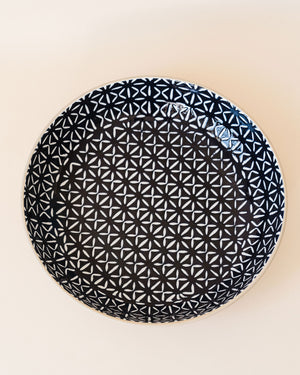 Indigo Serving Bowl