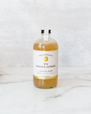 Ginger Citrus Cocktail Mixer