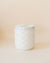 Muse Volcano White Faceted Jar-