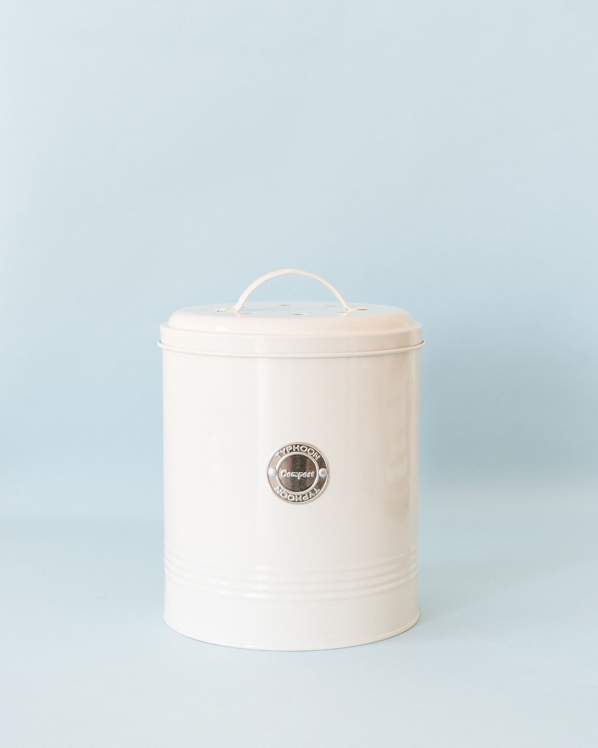 Living Cream Compost Caddy
