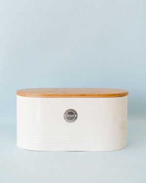 Living Bread Bin-cream