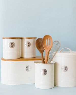 Living Cream Coffee Canister