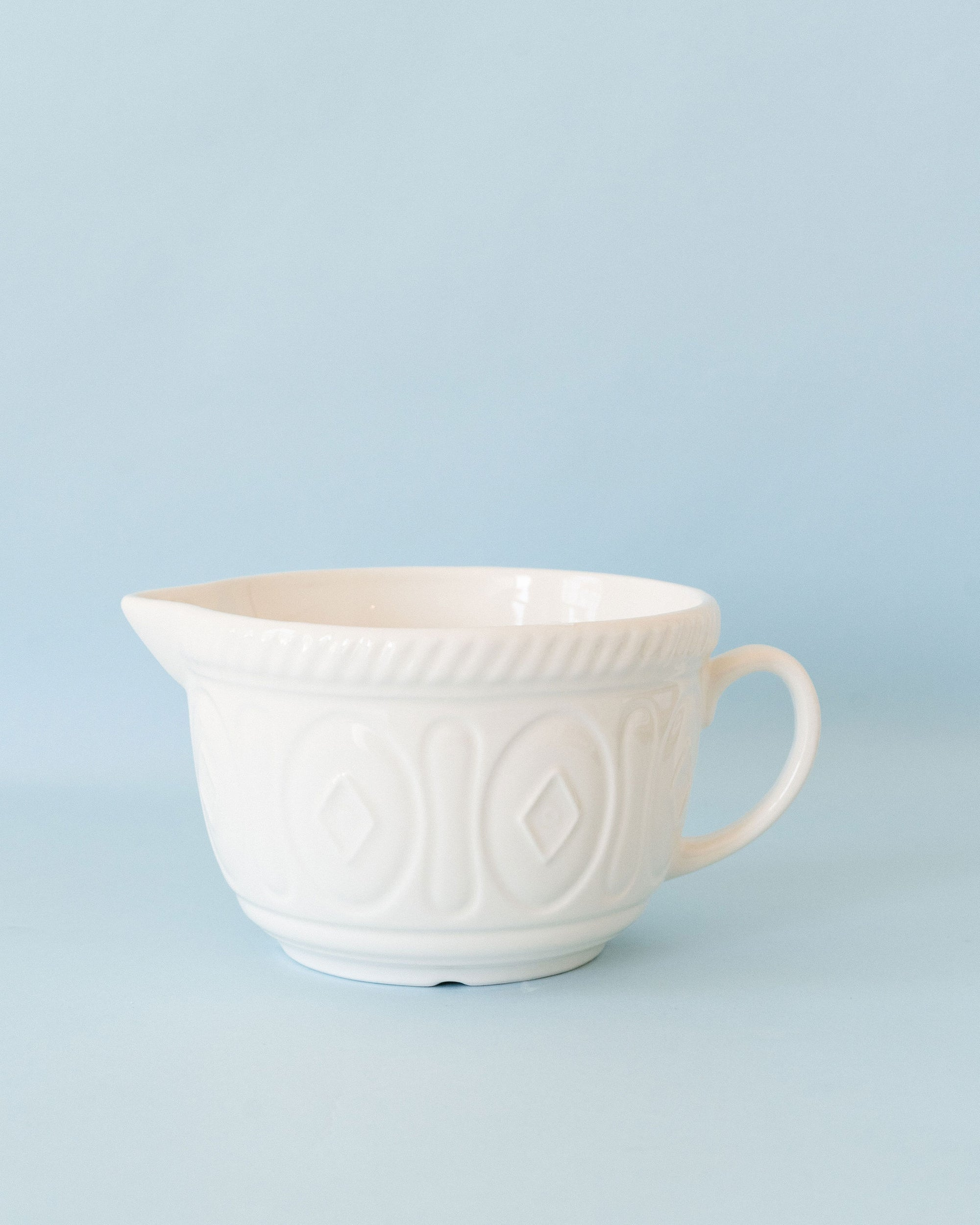 Cream Batter Bowl-9.75""
