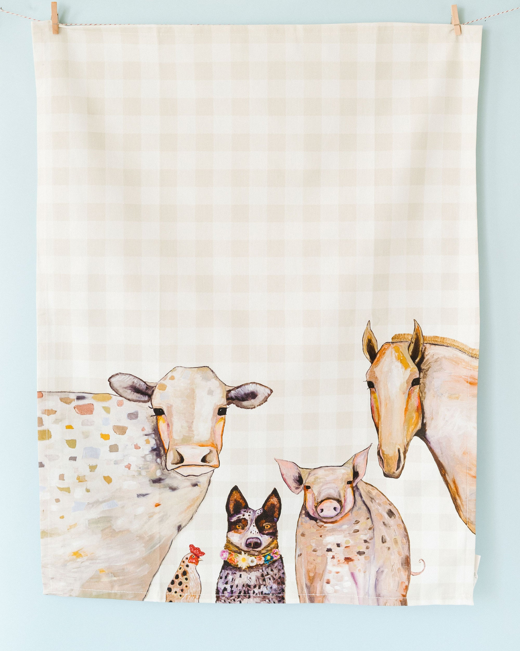 Cattle Dog and Crew Towel