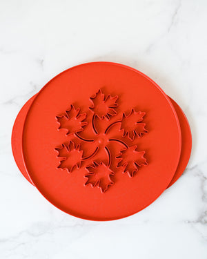 Apples and Leaves Pie Top Cutter