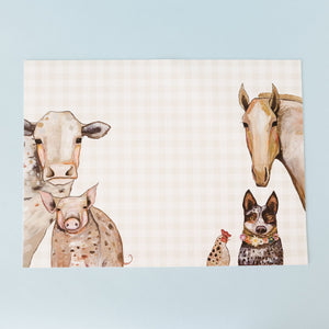 Cattle and Dog Crew Placemat