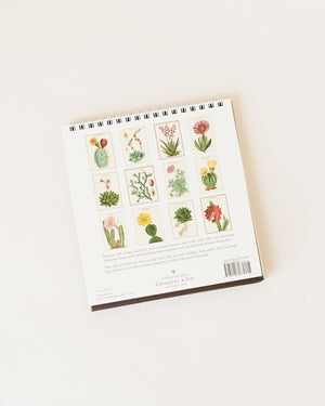 Succulents Desk Calendar
