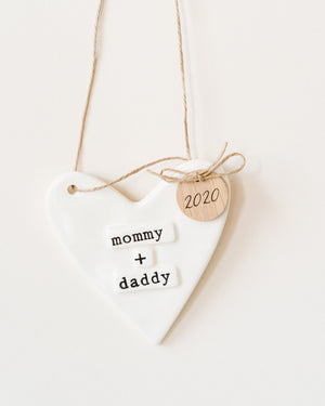 Mom and Dad Ornament