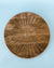 Wood Carved Lazy Susan